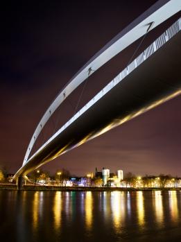 Maastricht by night - Hoge Brug